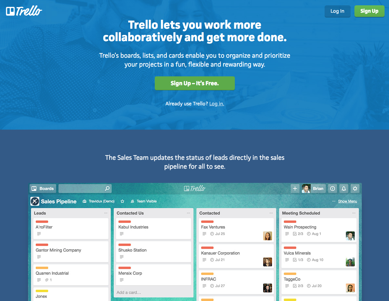 Top tools for productivity - Trello